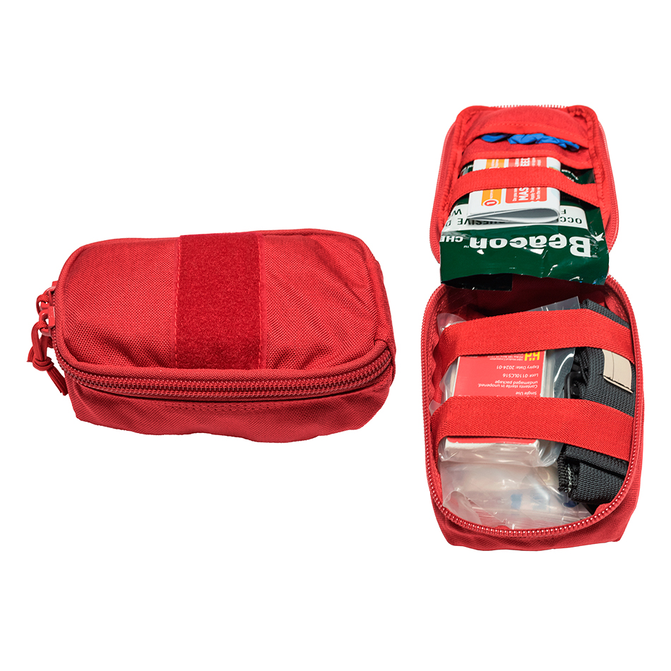 The Tramedic™ Marriott Cabinet Kit is specifically designed for Marriott hotels. Housed inside the cabinet is a grid system and eight individualTramedic™ Go-Bags.