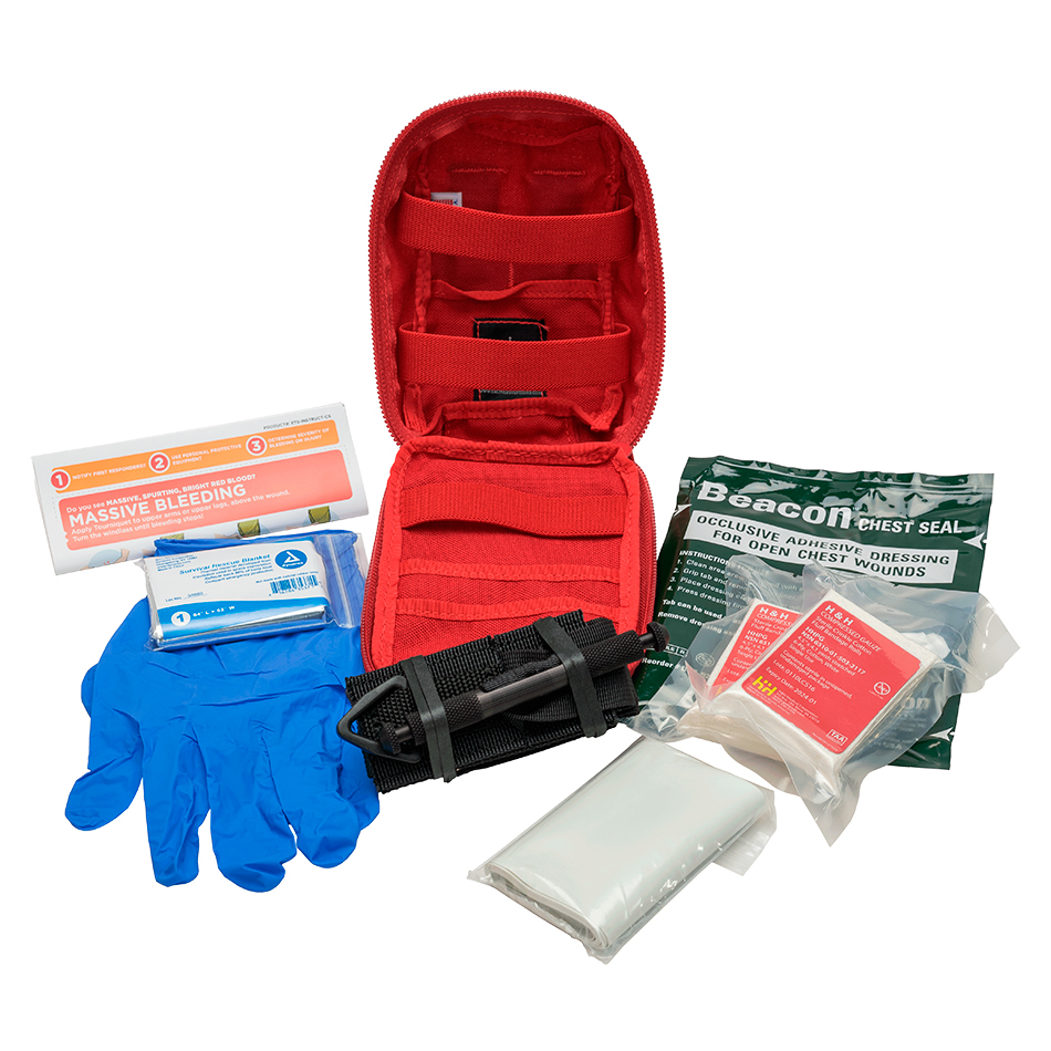 The Tramedic™ Marriott Cabinet Kit is specifically designed for Marriott hotels. Housed inside the cabinet is a grid system and eight individual Tramedic™ Go-Bags.